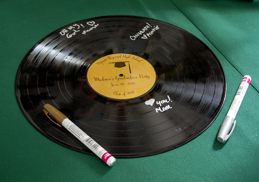 Record with Custom Label